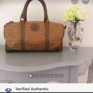OFFER!| Vintage Fendi Duffle Speedy; Authenticated